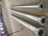 河北廊坊销售电力钢杆15m输电钢杆10kv双回路钢管杆