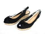 2014新款防水台厚底坡跟女鞋中跟舒适女凉鞋女式鞋批发