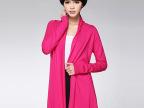 2015厂家直销 韩版长款毛衣开衫针织衫宽松女式毛衣