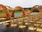 我公司大量金色竹节椅低价出租,活动桌椅出租租赁