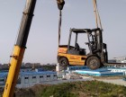 上海青浦白鹤3-10吨叉车出租鹤翔路吊车出租设备搬运移位