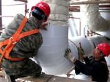 高温玻璃棉铁皮保温工程施工铝皮管道防腐保温