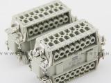 厂家直销重载连接器HDC-HE-032 32芯 工业插座 矩形插座
