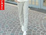 2015新款春秋卫裤休闲长裤 女 运动休闲裤 大码女装显瘦运动裤