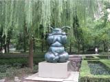 渭南玻璃钢动物雕塑施工,要买玻璃钢雕塑上哪