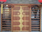 实木大门中式双开门古典大门仿古单门对开门双开门定制