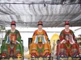 大型佛像雕塑厂家直销 三霄娘娘神像 女娲娘娘像 妈祖娘娘订制