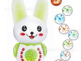 新款儿童故事机 多功能早教学习机 聪明康智兔 小兔投影玩具教具