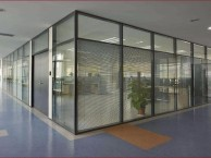 武汉玻璃隔断墙,武汉办公室隔断,武汉百叶玻璃隔断
