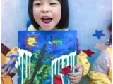 湖西儿童美术选创意娃娃