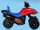 乐康小骑士升级双驱单驱儿童电动摩托车电瓶车三轮车5858