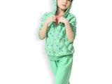 2014童装春装套装儿童运动女大童女装春装运动圆点套装女童春装
