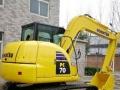 新机小型挖掘机出租,