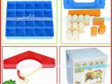 厂家直销 幼儿大型积木75件 塑料小房子拼搭玩具 环保EVA积木