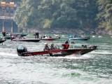 鋁合金路亞艇 釣魚快艇 巡邏救援沖鋒舟 公務艇雙體浮筒船