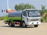 東風多利卡8.5方綠化噴灑抑塵車