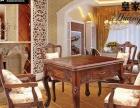 富士佳美店销售高档红木餐桌两用自动麻将桌