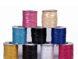 热销弹力韩国蜡线绳DIY手工串珠绳线多色可选水晶线吊坠蜡绳批发