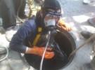蚌埠市疏通管道高压清洗下水道潜水打捞水下作业公司
