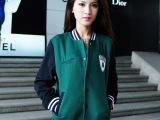 2014欧洲站秋季第一批夹克外套女装青春时尚韩版秋装夹克