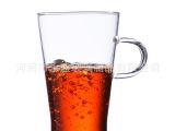 厂家推荐带把玻璃杯 茶杯 水杯子 花茶杯具 创意可爱 耐热茶具