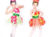 2014新款儿童演出服套装 女童舞蹈服装表演服027批发供应热销