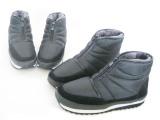一件代发炫丫丫外贸原单雪地靴 难得精品中老年轻便防滑防水棉鞋