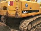 二手挖掘机现代225-7,转让出售,欲购从速
