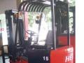 转让合力二手电动叉车,升高4米门架,进口电瓶叉车