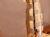 简约现代陶瓷落地花瓶创意工艺品摆件客厅时