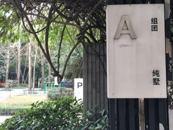 重庆大坪企业基地旁协信阿卡迪亚头排办公精装别墅出租