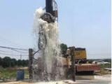 武汉新洲专业井点降水 箱涵工程基坑降水