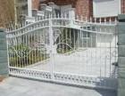 成都康河郦景铁艺栏杆 花园门