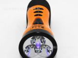 聆听者厂家 塑料V充电LED手电筒 led验钞手电筒 HX-40
