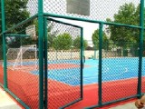 学校足球场护栏围网 体育场隔离网 公园篮球场围栏 浸塑护栏网