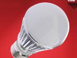 【精品推荐】5W银边LED球泡LED节能光源 E27螺口灯泡