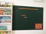 Magwall儿童DIY涂鸦流畅笔触无尘书写黑板磁性绿板墙贴