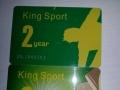 金仕堡健身卡