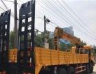前四后八随车吊道路救援可装爬梯12吨14吨16吨