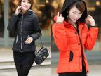 新款修身韩版女装加大码短款棉衣女外套羽绒棉服棉袄正品冬装女装