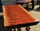 厂家直销实木大板黄花梨老板办公桌原木餐桌茶桌会议桌