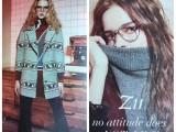Z11女装品牌折扣秋冬装库存尾货一手货源分份批发