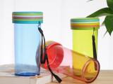 厂家供应炫彩杯彩虹杯防漏创意礼品杯塑料杯广告定做LOGO水杯