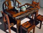 老船木家具功夫泡茶桌中式仿古茶艺桌船木茶台茶桌