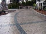 昆明市 透水地坪价格 透水混凝土 压花地坪材料 压模地坪