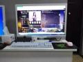 LOL全套四核整机独显电脑,超大白色27寸显示器