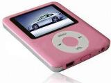厂家批发MP3MP4MP5音乐电影播放器1.8寸四代苹果MP4热
