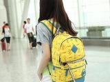 2013现货全新韩版清新学院派休闲双肩时尚双肩包帆布包特价批发