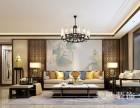 郑州联盟新城126平三室两厅新中式装修效果图