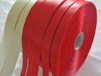东莞厂家热销红色高品质双面丝带  物美价廉 品种繁多 可混批